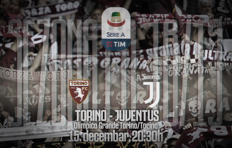 Serie A 2018/19 / 16. kolo / Torino - Juventus, subota, 20:30h