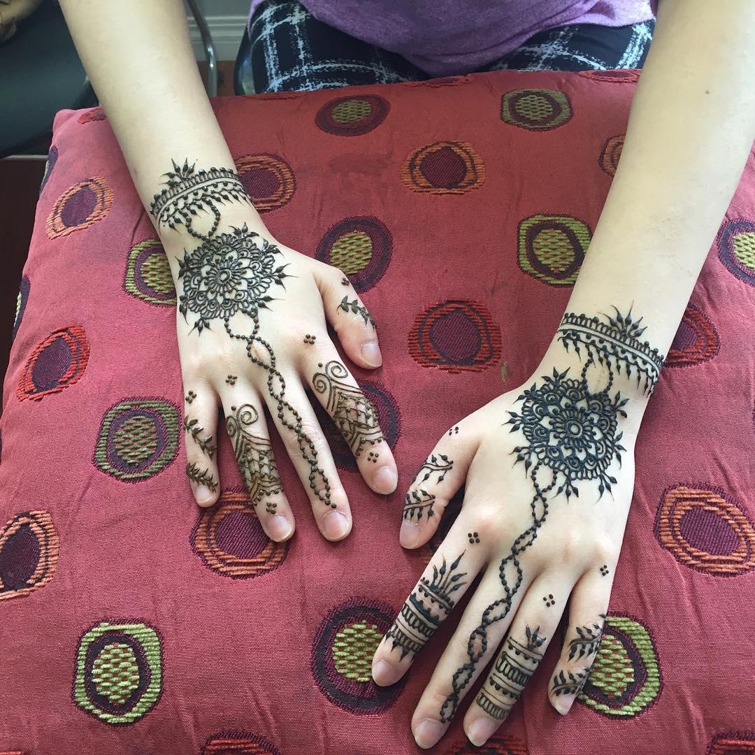 Mehndi Henna By T : New simple mehndi henna designs for hands buzzpk
