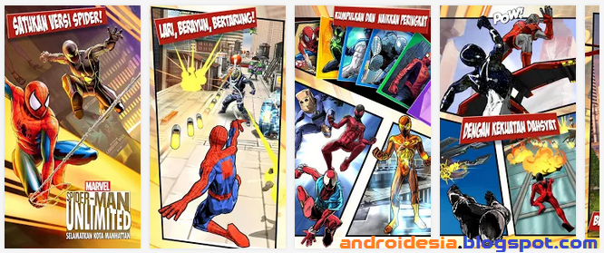 Spider-Man Unlimited - Game Android Seru