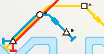 لعبة Mini Metro للأندرويد، لعبة Mini Metro مدفوعة للأندرويد