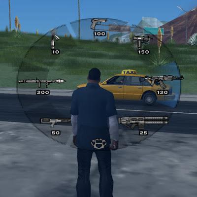 GTA V PS2 armas weapons