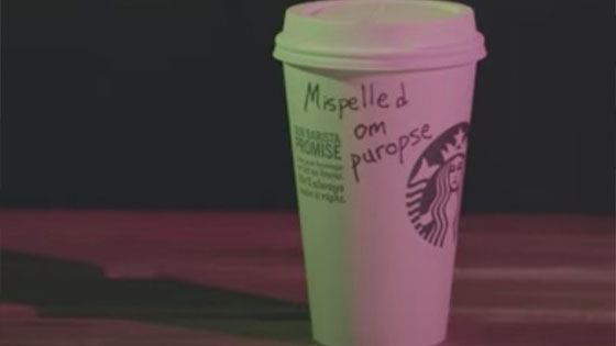 Starbucks Sengaja Salah Eja Nama