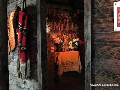 Cuarto de una Troje en el Centro de Interpretación de la Ruta Don Vasco en Pátzcuaro
