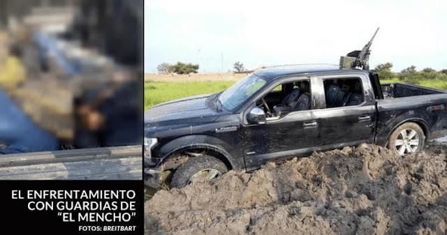 """VIDEO; Guardaespaldas personales de """"El Mencho"""" facilitaron la huida de Militares y Policías."""