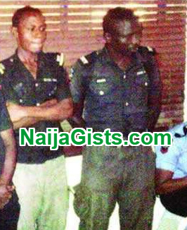 dismissed police officers driving danfo bus