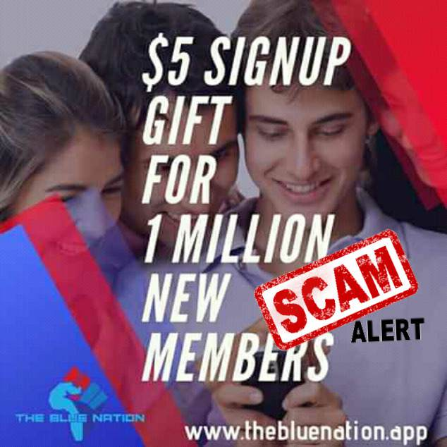 The Blue Nation Scam Review , How To Earn Upto $50 Daily On The Blue Nation App