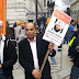JKLF participated in protest organized by Sikh community in London