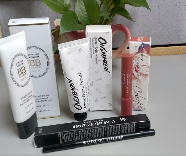 ONSAEMEEIN Magic Skinny Primer, Etude House Precious Mineral BB Cream Matte,Luxe Gel Eye Liner,Mamonde Creamy Tint Color Balm Intense, make up murah, online shopping make best, althea, cara beli make up dari korea, make up korea murah, barang make up best, bb cream, etude house, bb cream etude house, lip tint, lipstik, lip matte, luxe, gel eyeliner, eyeliner, primer, onsaemeein, primer best, primer terbaik,