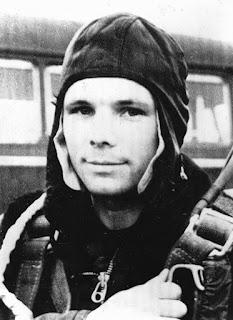 Il primo uomo ad andare nello spazio, Yuri Gagarin.