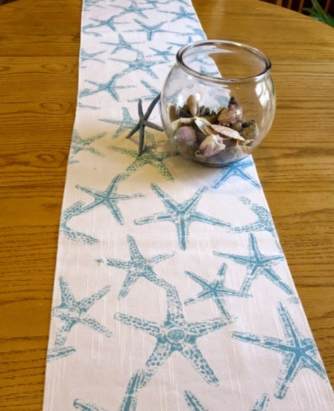 Attrayant Starfish Table Runner