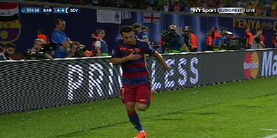 UEFA Super Cup : Barcelona 5 vs 4 Sevilla 11-08-2015