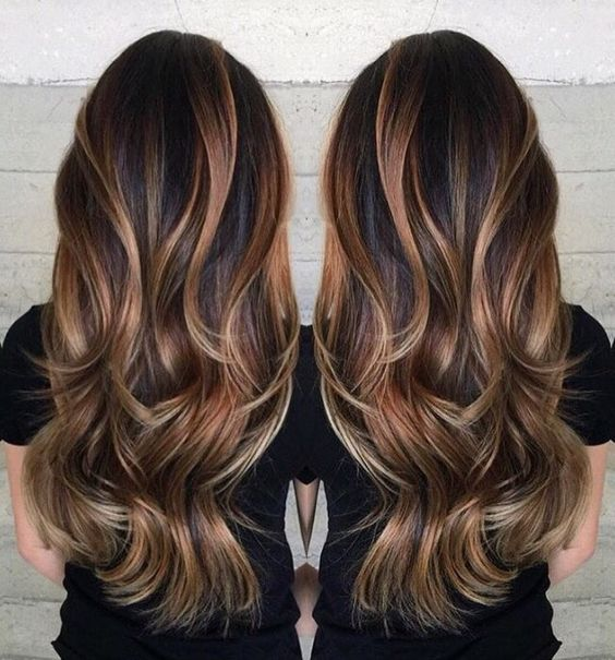 long-caramel-highlights