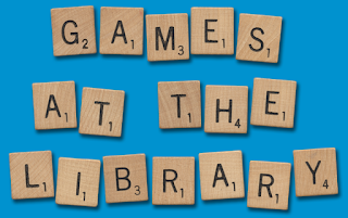 Scrabble in the library