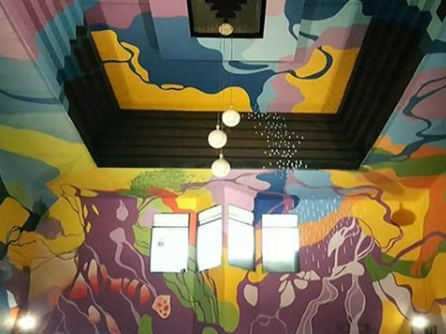 Dilukis Mural, Terminal Leuwipanjang Jadi Spot Selfie
