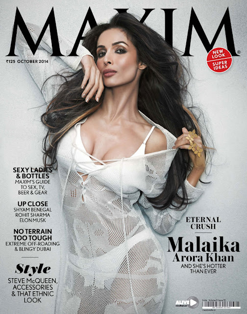 Malaika Arora Khan's Hot Maxim Photo-shoot 2014