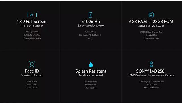 UMIDIGI S2 Pro 6GB RAM/128GB specifications