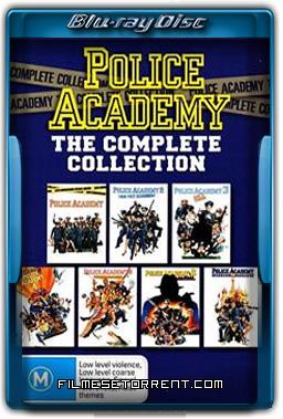 Coleção Completa - Loucademia de Polícia
