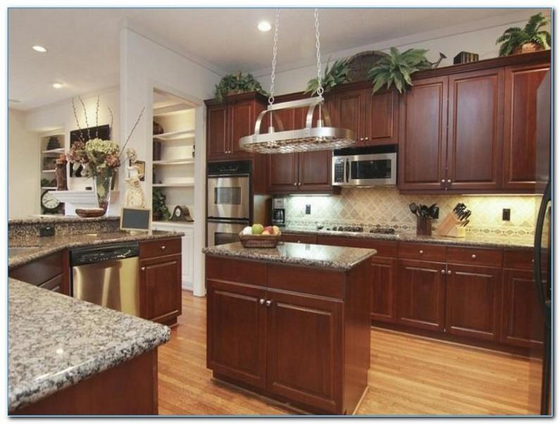 Kitchen Decorating Ideas For Above Cabinets Home Interior Exterior Decor Design Ideas
