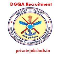 DGQA Recruitment