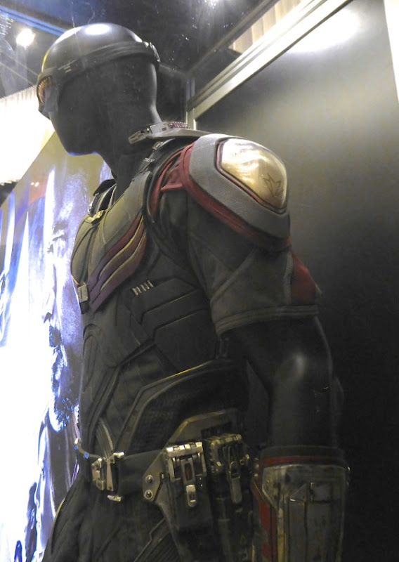 Captain America Civil War Falcon film costume detail