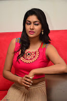 Akshita super cute Pink Choli at south indian thalis and filmy breakfast in Filmy Junction inaguration by Gopichand ~  Exclusive 116.JPG