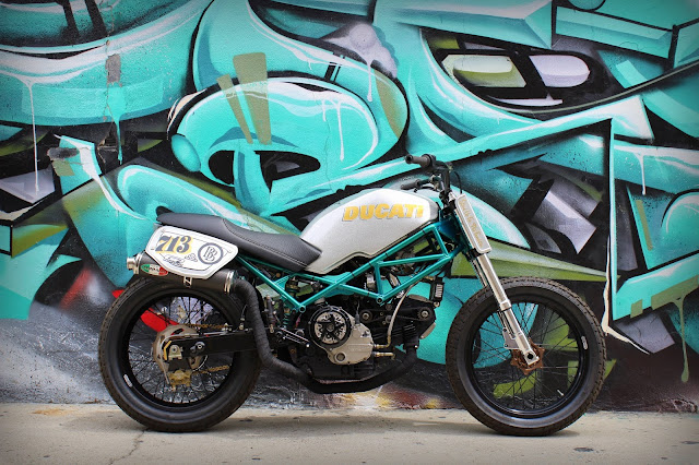 Ducati Monster By Behind Bars Customs Hell Kustom