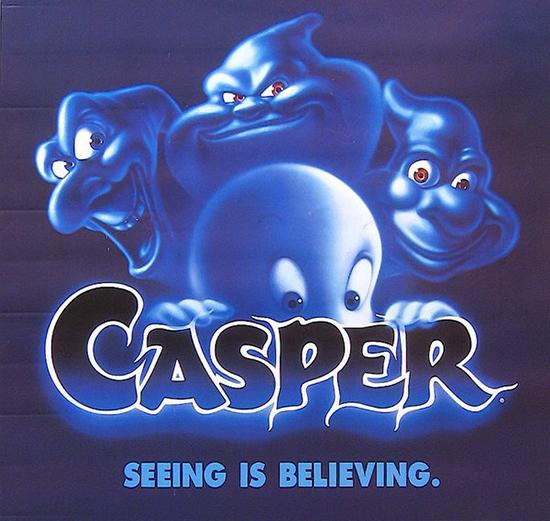 """CASPER font -Fuente de la película """"Casper"""""""