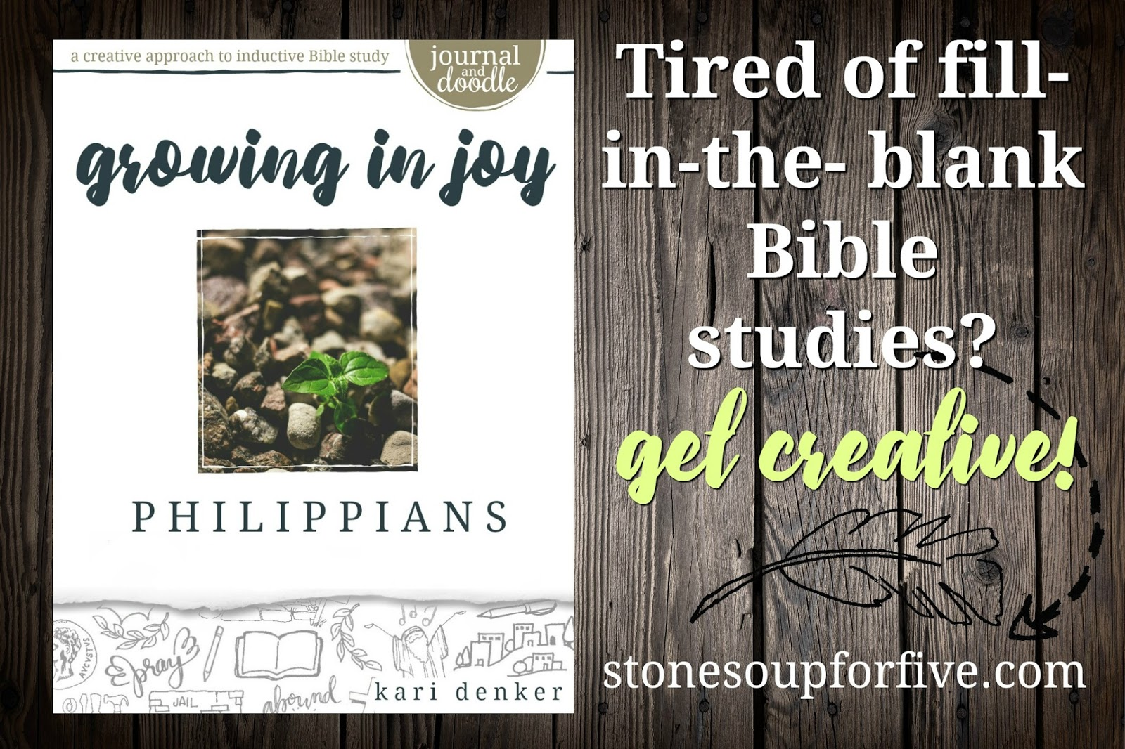 Stone Soup for Five: BIBLE STUDIES