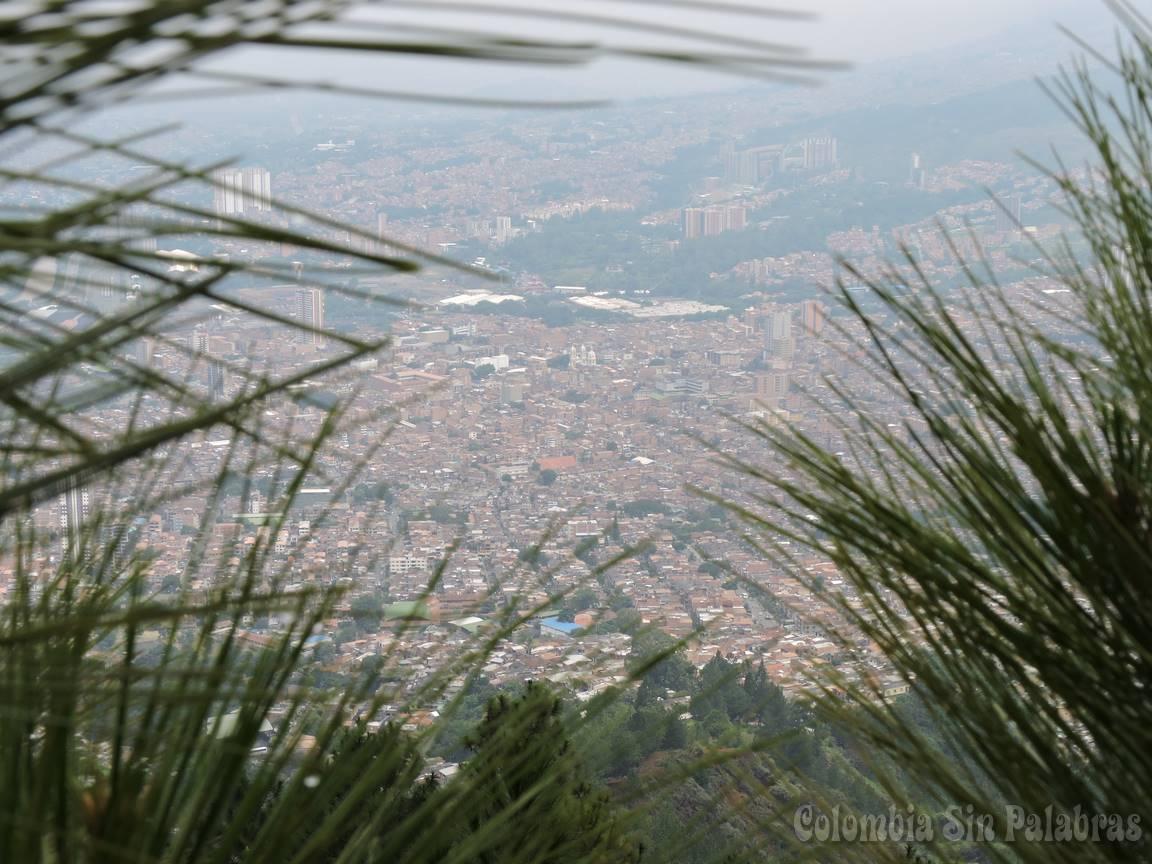 Municipio de Bello visto desde el cerro quitasol