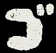 カタカナのペンキ文字「ゴ」