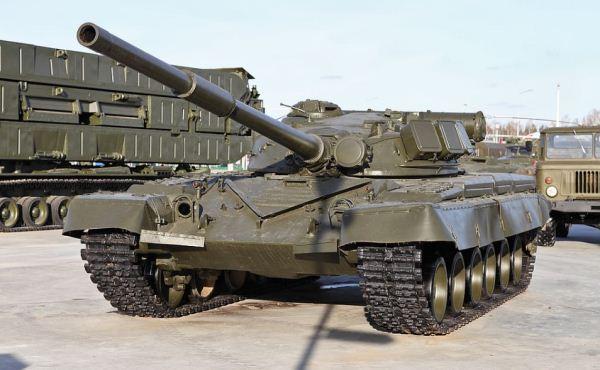 Tank T-80 Rusia