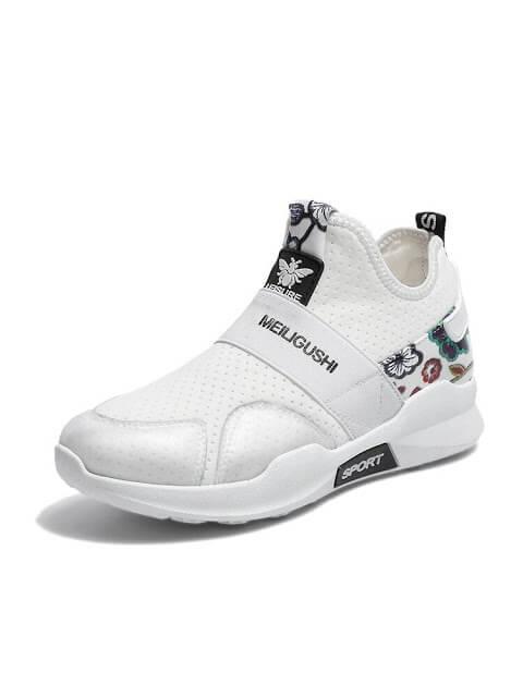 Slip On Mesh Sneakers