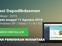 Link Unduh dan Instal Aplikasi Dapodik 2019 - Wawasan Pendidikan Nusantara