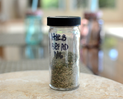 DIY Herb Blend for Homemade Herb Bread ♥ KitchenParade.com