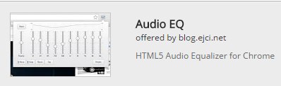 equalizer audio online