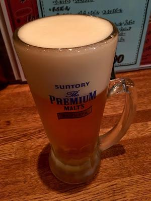 三軒茶屋にあるレインボーの生ビール