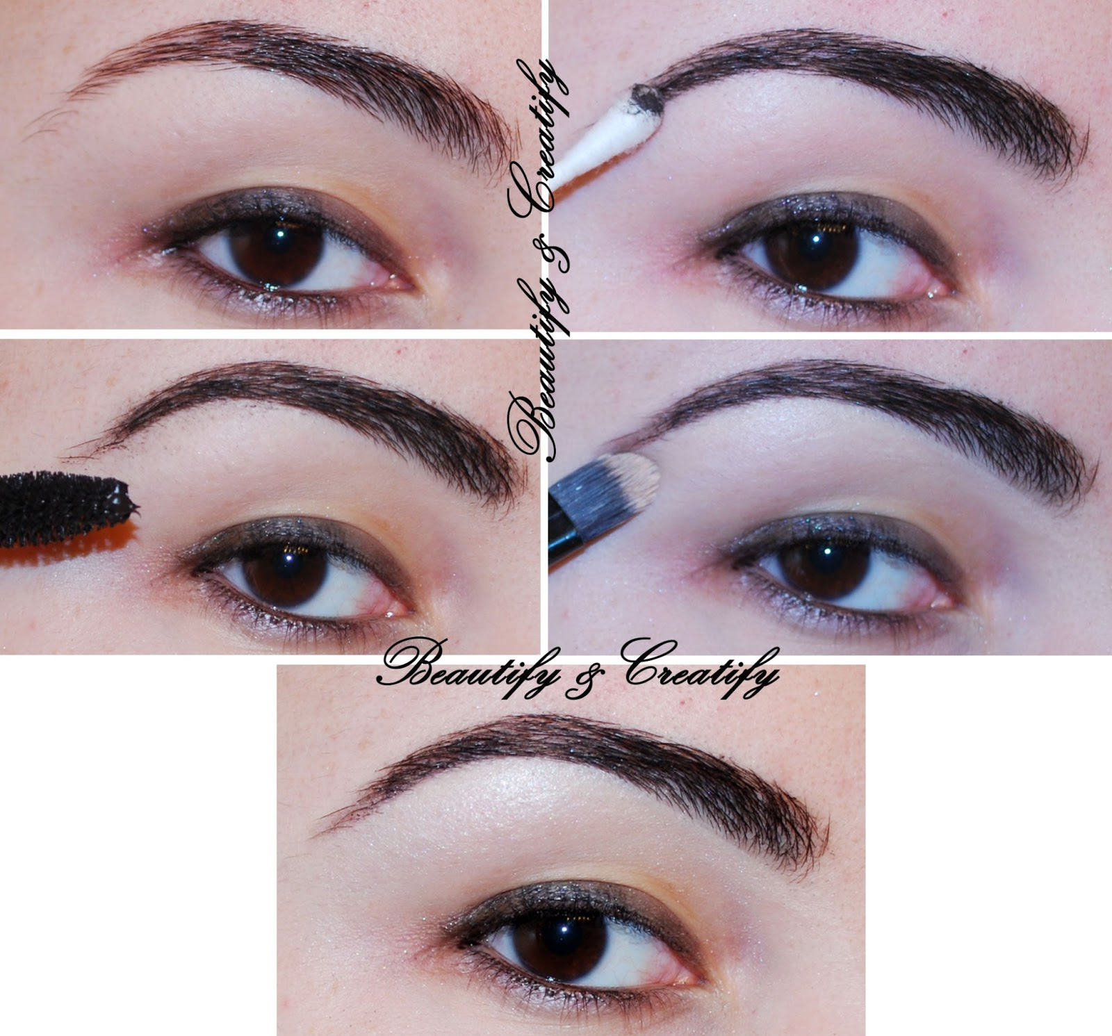 Four Different Ways To Fill In And Shape Eyebrows