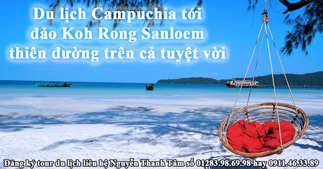 Du lịch Campuchia tới đảo Koh Rong Sanloem thiên đường trên cả tuyệt vời
