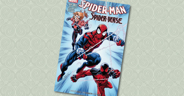 Spider-Man Spider-Verse 2 Panini Cover