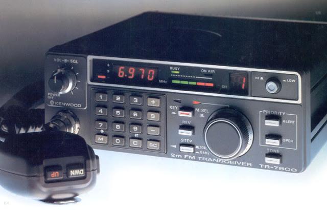 Kenwood TR-7800 Mobile Radio Transceiver