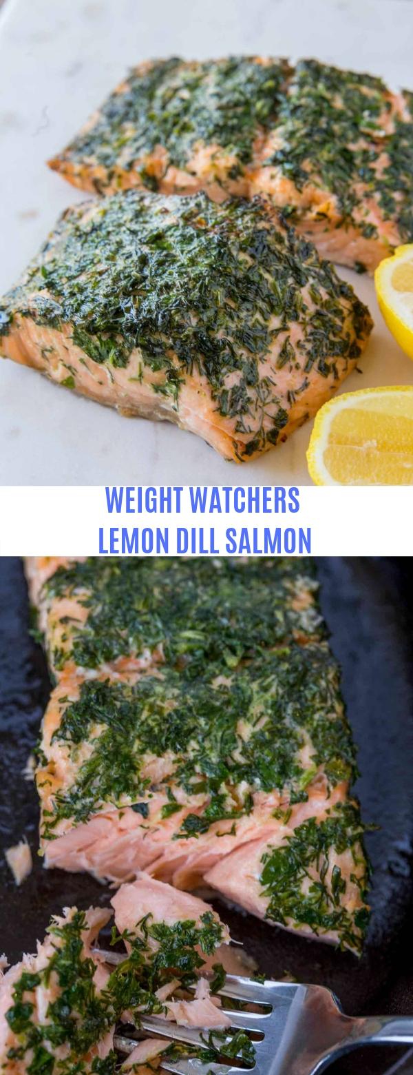WEIGHT WATCHERS LEMON DILL SALMON