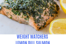 WEIGHT WATCHERS LEMON DILL SALMON