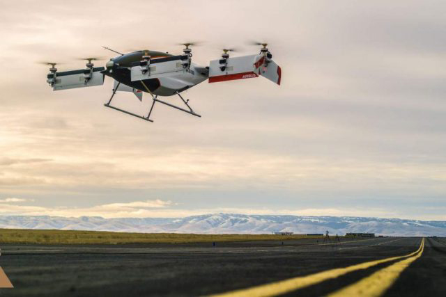 First Airbus self-flying car just passed flight test