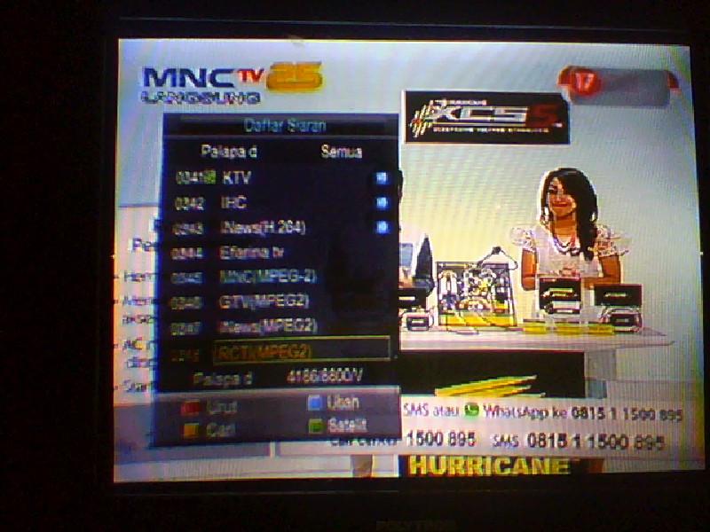 INews TV: Seputar Parabola: Frequensi Mnc Tv Mpeg2,Global Tv Mpeg2