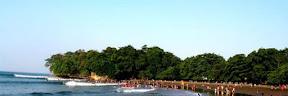 Tempat Wisata Pantai Batu Karas Ciamis