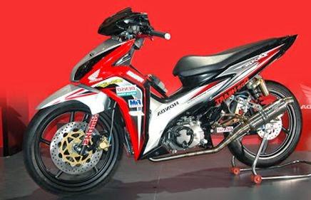 Modifikasi Motor Honda Blade Simpel