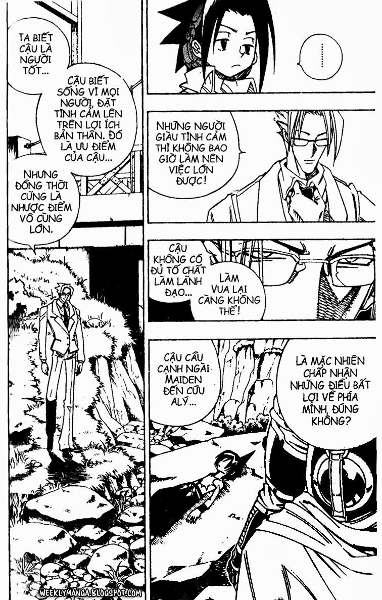 Shaman King [Vua pháp thuật] chap 156 trang 16