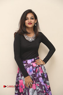 Sana Pictures in Floral Skirt at Neerajanam Audio Launch