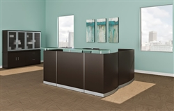 Modern Reception Desk from Mayline