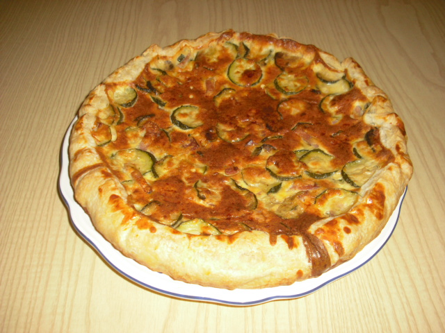 La Donna Focaccina Torta Salata Con Zucchine Speck E Yogurt Greco